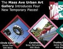 Mass Ave Public Art Promo Card