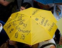 La révolution des parapluies