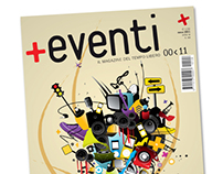 Cover +Eventi Magazine - Competition of Ideas