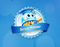 Scrubbing Bubbles Facebook App