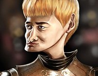 King Joffrey Caricature