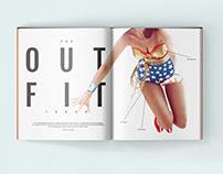Wonder Woman Magazine Spread