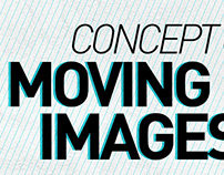 Concept of Moving Images from a Moving Train