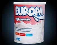 EUROPA - MILK POWDER