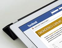 Online Form. Facebook App.