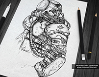 Sketch Designs Display Mock-Up