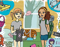 Illustrations for GL Magazine