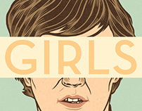 Girls (illustrations).