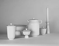 Lyngby Porcelain - Tsé / 塑瓷