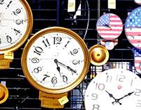 wall clock vector art