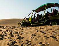 Huacachina: Sandboarding