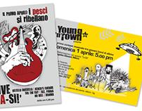 Flyer Young n' Town - I pesci si ribellano