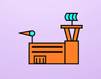 Air Traffic Control Facility Icon