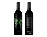 Beverage Label Redesign – Butterfly Absinthe