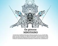 """""""Os gémeos Minotauro"""" (the minotauro twins)"""