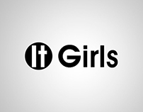 Logotipo e Camisetas - Revista It Girls