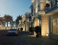 Night View (Qatar Villa)
