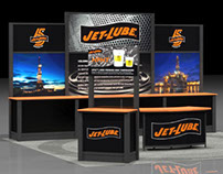 Jet-Lube, Inc. trade booth for OTC (Offshore Technology