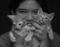 My Girl & My Cats