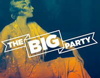 The Big Party Event Branding