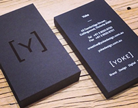 Yoke's New Business Cards