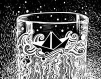 Una tormenta en un vaso de agua