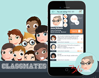 Classmates v1.0 - Rate your professors iOS App