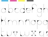 Fuente tipográfica PURA / Typo