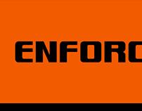 Enforcer Typeface