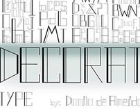Decorat Type [cartaz tipográfico]