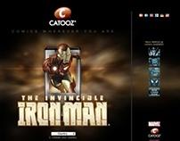 Iron Man website