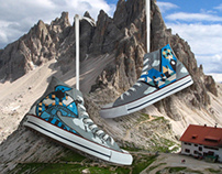 Custom Shoe & Package design