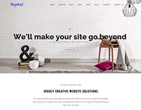 Home - Beyond WordPress Theme - Landing-Page