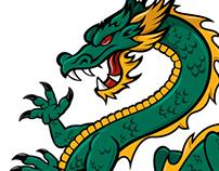New Company Dragon - Vector Art