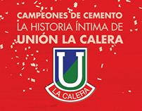 LIBRO UNION CALERA - CAMPEONES DE CEMENTO