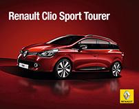Renault Clio Sport Tourer // Facebook Tab