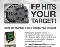 Hit Your Target Email Campaign Flight Display Systems