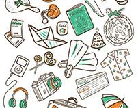 Notebook & Hangers
