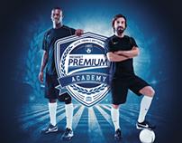 Mediaset Premium Academy (Logo / Print)