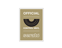 Official Serato Control Vinyl Logo Development