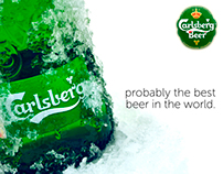 Carlsberg Beer Photography