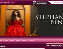 Stephanie Benson Live