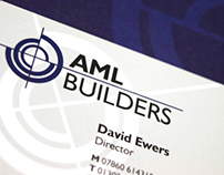 AML Builders | Branding, Print Design & Web Design
