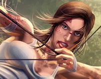 Tomb Raider Reborn / Concept art