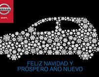 Tarjeta fin de año Nissan [Concepto]