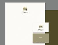 LOGO & IDENTITY DESIGN: AMODA RESERVE (LUXURY VILLAS)