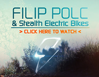 Filip Polc & Stealth electric bikes