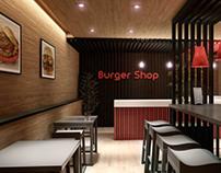 A Burger Shop
