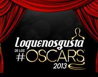 Infografía Oscars 2013 / LA WEB