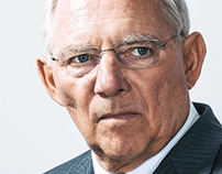 Wolfgang Schäuble for Stern